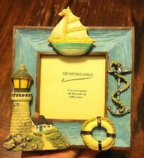 Beach Ocean Sea Anchor Sail Boat Lighthouse Home Office Picture Photo Frame #D20