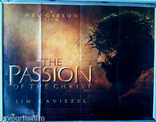 Cinema Poster: PASSION OF THE CHRIST, THE 2004 (Quad) Jim Caviezel Mel Gibson