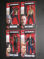 WALKING DEAD RED TOP 6 INCH FIGURES RICK DARYL MICHONNE ABRAHAM MCFARLANE AMC