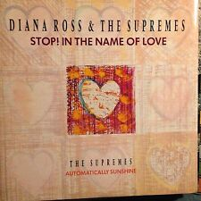 DIANA ROSS & THE SUPREMES • Stop! In The Name Of Love • Vinile 12 Mix • MOTOWN