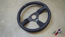 DND Performance Interior Leather Touring Steering Wheel (Gray)