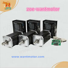 HOT!USA free!Wantai CNC Kit 3Axis Nema42 Stepper Motor 110BYGH150-001 150mm 3256