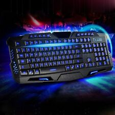 TASTIERA MULTIMEDIALE LED WIRED GAMING KEYBOARD USB RETROILLUMINA  PER LAOTOP PC