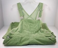 Girls Clothes American Girl Overalls Size Large Sage Green Corduroy