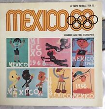 Mexico 1968 Olympic Games Newsletter 22 Complete