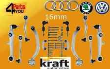 AUDI A4 B6 2000-  Complete front suspension control arms track  kit SET WISHBONE