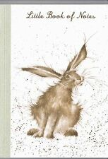 "Wrendale Designs Country Set A5  Little Book of Notes ""Hare Raising""  Notebook"