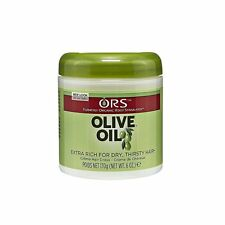 Organic Root Stimulator Olive Oil Cream, For Dry & Thirsty Hair, 6 Ounce