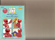 ELMOS WORLD WAKE UP WITH ELMO / DANCING, MUSIC AND BOOKS DVD KIDS SESAME STREET