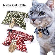 Necoichi Ninja Lucky Cat Collar Red