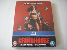 Grindhouse: Planet Terror/Death Proof (2007) - Zavvi Steelbook 2-Disc Blu-Ray