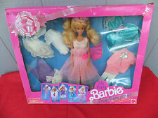 My First Barbie Deluxe Fashion Gift Set 1991 Vintage Mix 'n Match Fun NRFB MIB