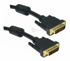 2 mt DVI-I Male Dual Link 29 PIN 28 + 1 / 24+5 DVI I Digital & Analogue Cable