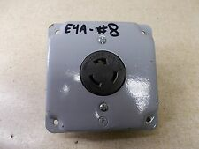 Nema L5-20-R 20A 125V Outlet Receptacle w/ Housing *FREE SHIPPING*