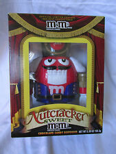 New in Box Red M&M Nutcracker Christmas Sweet Chocolate Candy Dispenser