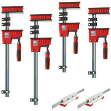 Bessey KRX2440 Multi-Size REVO K Body Fixed Jaw Parallel Clamp Kit - 4pc