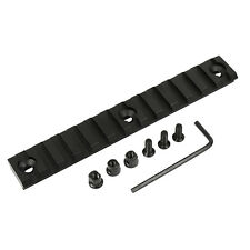 "13 Slot Keymod 5.25 inch 5"" Picatinny Weaver Rail Handguard Section Aluminum Kit"