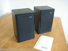 Spendor LS3/5a Speakers, Bi-Wire, Black Ash, Gene Rubin Audio
