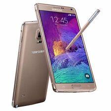 Oro  Samsung Galaxy Note 4 IV SM-N910A GSM Desbloqueado Fábrica Smartphone 32GB