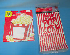 Pop Corn Party Bags 10ct. & Decorating Note Cards 22ct.