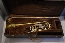 "BACH 50B3 STRADIVARIUS SERIES BASS TROMBONE 10.5"" YELLOW BELL - EXC. PLAYER"