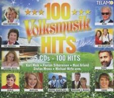 100 Volksmusik Hits - 5 CD's 100 Hits, Karl Moik, Stefan Mross und andere