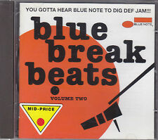 BLUE BREAK BEATS volume 2 - various artists CD