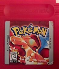 Gameboy Color Pokemon Red Version Cartridge - Tested and Working