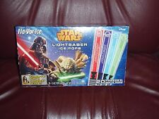 Star Wars Fla-Vor-Ice LightSaber 20 Ice Pops Freeze Bars with Character Card