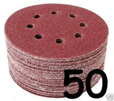 50 - 125mm Hook & Loop Sanding Discs 40 60 80 120 240 Grit Orbital Sander Pads