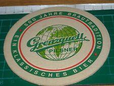 sottobicchiere beer mats birra bierdeckel GRENZQUELL PILSNER