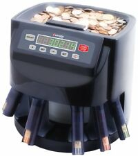 Cassida Coin Counter, Sorter, Automatic Money Wrapper Change CASSIDA-C200 New
