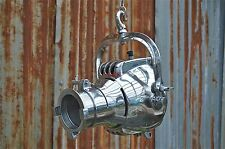 Superb polished metal strand patt theatre spot light hanging lamp industrial