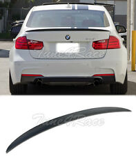 For 12-Up BMW F30 3-Series Performance Style Carbon Rear Spoiler Trunk Lip Sedan