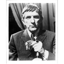 Dark Shadows Jonathan Frid in Suit Holding Cane 8 x 10 Inch Photo