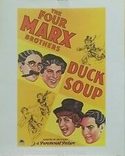 The Marx Brothers 16x20 Duck Soup Poster