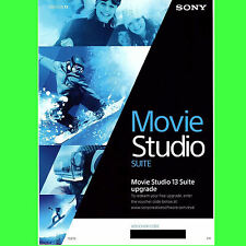 Sony vegas movie studio hd platinum suite production 13, licence de mise à niveau