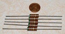 5 Allen-Bradley 510 ohm 1W Carbon Comp Resistors NOS 5%
