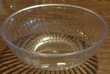 LARGE CLEAR PUNCH BOWL 192 ounces hard plastic NEW Chips / Snacks / Party