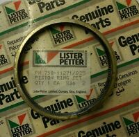 Lister Petter Piston Ring Set +0.25mm for Early LPA2 LPA3 Engines 750-11271/025