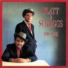 FLATT & SCRUGGS 1948-1959 Bear Family 1991 - 4 CD Discs Box Set