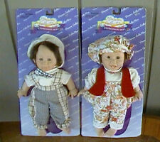 SWEET EXPRESSIONS DOLLS - Pair of matching boy and girl in original packaging