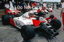 NIKI LAUDA McLAREN MP4 / 2 F1 Stagione 1984 FOTOGRAFIA 3
