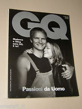 MADONNA STING COVER MAGAZINE=EWAN McGREGOR=KEITH RICHARDS BY PETER LINDBERGH=