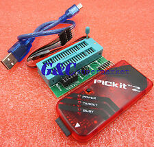 PICkit2 PIC KIT2 debugger programmer + Programming Adapter M123