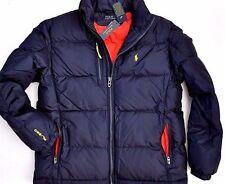 NWT Ralph Lauren Men quilted Navy Down Trek Ski Jacket Coat Vest  Sale $99.99