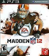 Madden NFL 12 2012 Video Game For SONY PlayStation 3 PS3 Console System A4