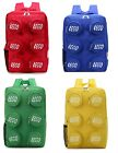 LEGO Rare New Brick Block Backpack School Bag Shoulder Bag Travel Free Shipping