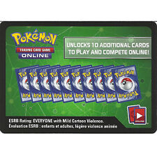 10 X Pokemon XY Evolutions Code Cards - Unused - Trading Card Game Online TCGO
