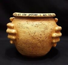 Resin Planter / Pot - Thou Art the Potter I Am The Clay